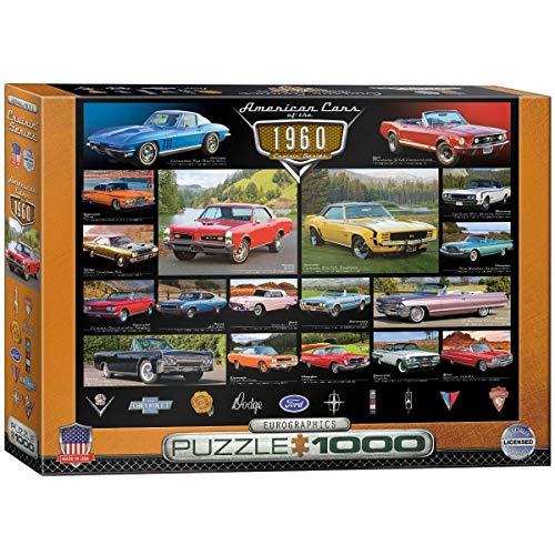 1000ピース ジグソーパズル 1960年代のアメリカの自動車 6000-0677