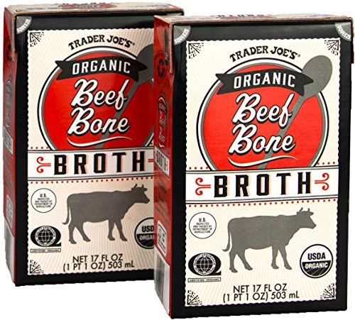 Trader Joe's Organic Beef Bone Broth - 2 Pack