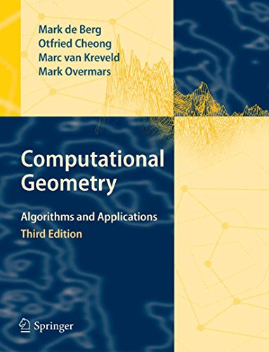 Computational Geometry: Algorithms and Applications (English Edition)