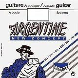 Argentine 1215 - Corde de La au détail à boule Guitare Manouche - tirant 36