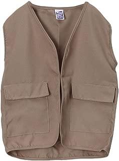 Making Believe Kids Unisex Polyester Khaki Safari Explorer Vest