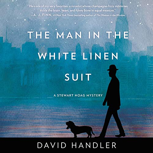 The Man in the White Linen Suit audiobook cover art