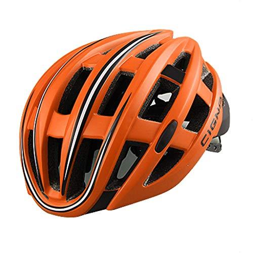 WXQX Fietshelm, eenzijdig, met achterlicht, voor dames en heren, mountainbike, wielrennen, outdoor sportuitrusting.