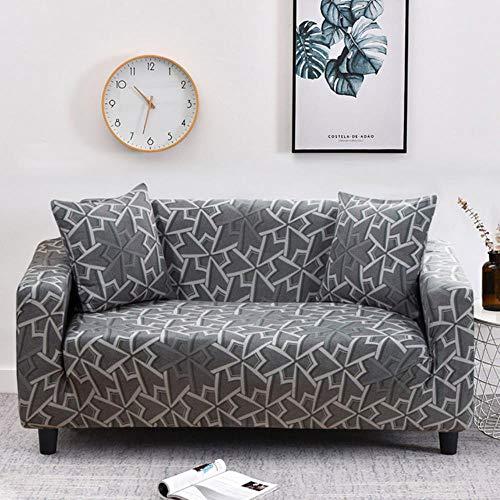 JIAYAN Plaid-Sofabezug Elastischer Sofabezug für Wohnzimmer L-förmiger Stuhlschutzbezug Möbelbezüge 1PC-Farbe 7,3-Sitzer 190-230 cm