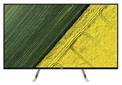 Acer ET430K 109 cm (43 Zoll) Monitor (2x HDMI, Displayport, 5 ms Reaktionszeit, 60Hz, 3840 x 2160 UHD, HDR-Ready) schwarz/weiß
