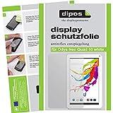 dipos I 2X Schutzfolie matt kompatibel mit Odys Neo Quad 10 White Folie Bildschirmschutzfolie