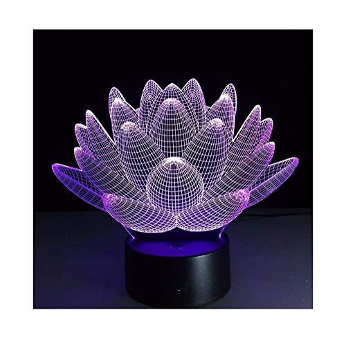 BaiSuiLiang nachtlampje met afstandsbediening, 3D optisch bedrieglicht, tafellamp met 5 Bluetooth-luidsprekers, gekleurde tafellamp, feestdecoratie