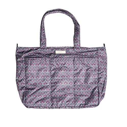 Ju-Ju-Be Classic Collection Super Be Zippered Tote Diaper Bag, Amethyst Ice