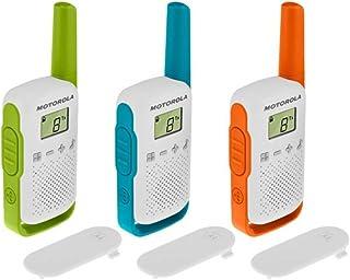 comprar comparacion Motorola T42 Triple Talk About – Aparatos de Radio (Juego de 3, PMR446, 16 Canales, Alcance 4 Km) Multicolor