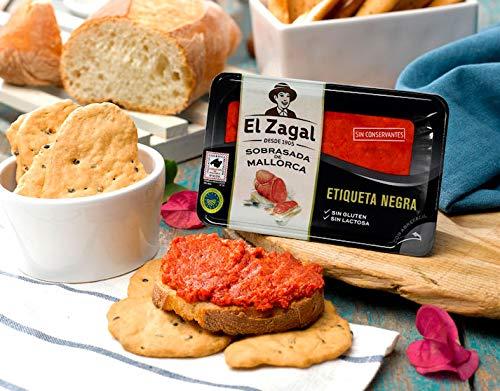 El Zagal Sobrasada De Mallorca Etiqueta Negra 200Gr. Al Vacio 200 g