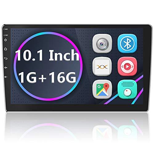 Android Autoradio GPS Navi 2 Din Lettore Stereo CAMECHO 10   Touch Screen Bluetooth WIFI FM Ricevitore Mobile Mirror Link telefono con Dual USB + Telecamera posteriore