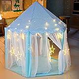 deAO Tienda de Campaña Tipi Castillo con Luces LED Casita de Juegos Infantil...