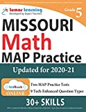 Missouri Assessment Program Test Prep: 5th Grade Math Practice Workbook and Full-length Online Assessments: MAP Study Guide