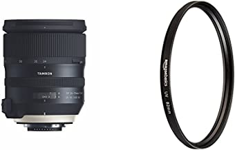 Tamron 24-70mm F/2.8 G2 Di VC USD G2 Zoom Lens for Nikon Mount with UV Protection Lens Filter