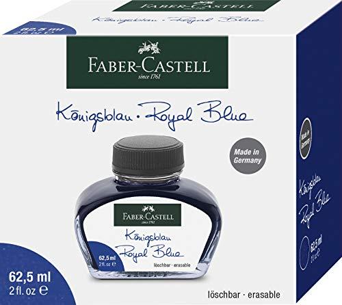 Faber-Castell - Tintero (cristal), color azul cobalto