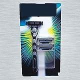 Máquinas de afeitar, maquinillas de afeitar manuales de tres cuartos de un...
