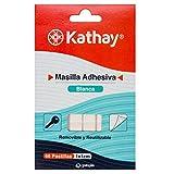 Kathay 86020900. 66 Pastillas de Masilla Adhesiva Blanca, Removible y Reutilizable, Perfecta para Uso Escolar y Decoración