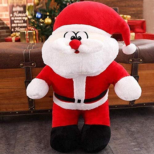 N-L Natural 50cm Santa Claus Doll Plush Toy Creative Doll Intellectual Development Santa Plush Gifts