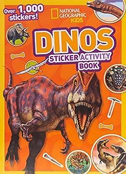 National Geographic Kids Dinos Sticker Activity Book  Over 1,000 Stickers!  NG Sticker Activity Books