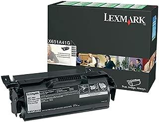 Lexmark Government X651/X652/X654/X656/X658 Series Return Program Print Cartridge 7000 Yield New