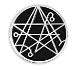 Pinsanity H.P. Lovecraft Cthulhu Necronomicon Sigil Enamel Lapel Pin