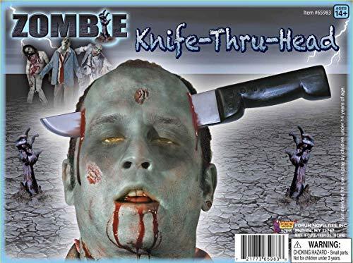 Forum Novelties Zombie Knife Thru Head Costume Accessory