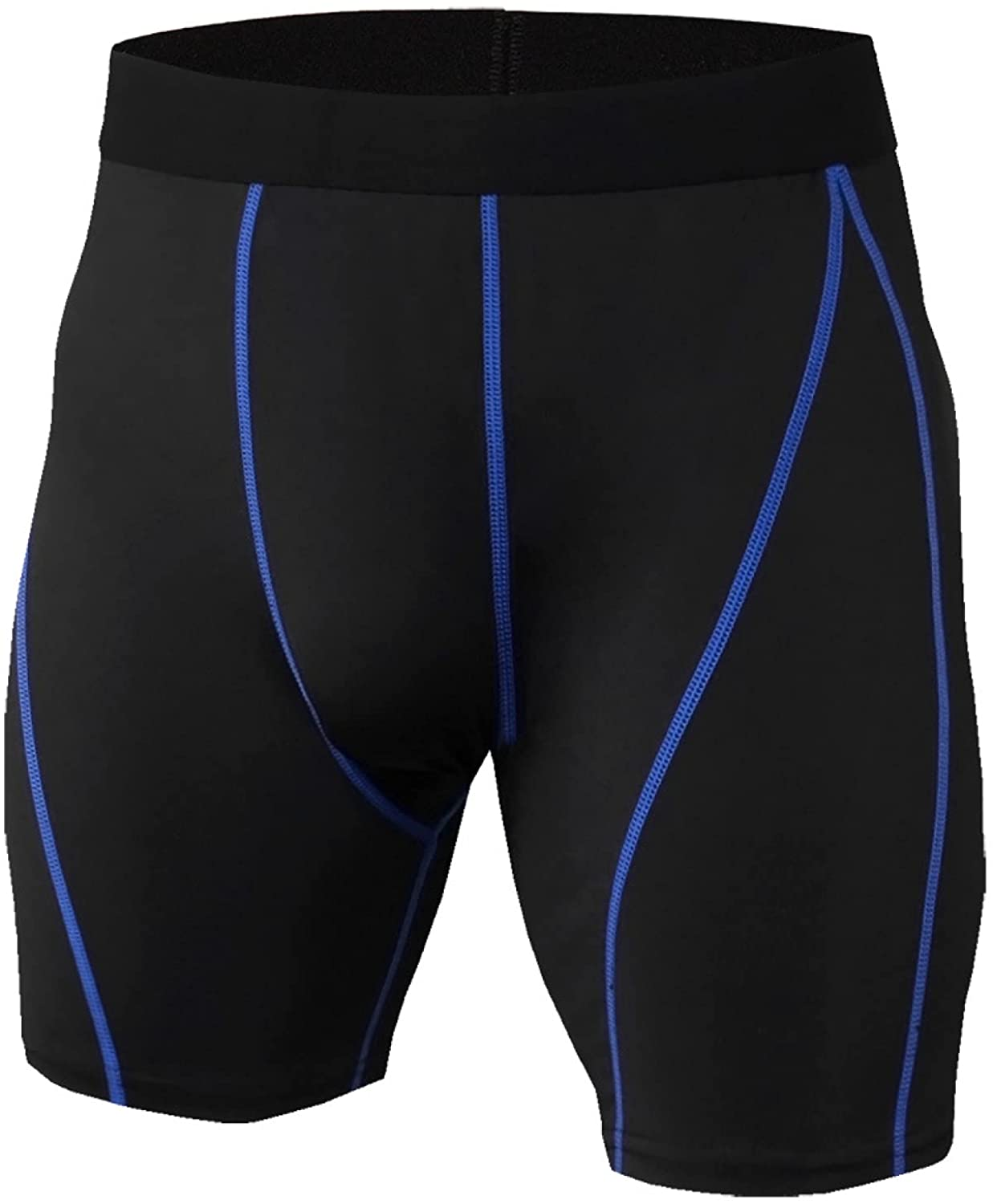 Men's Quick Dry Shorts Summer Mid Waisted Fashion Stitching Breathable