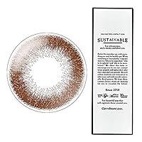 【2箱】サステイナブルワンデー 102-BR(チョコブラウン) -1.00 1箱10枚入 1day choco brown 14.1mm ナチュラルカラコン
