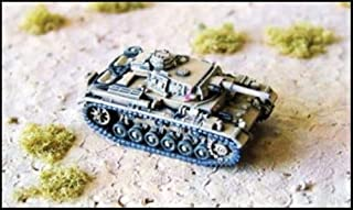 WWII Micro Armour - Germany - Tanks 1:285 PzIIIF/G