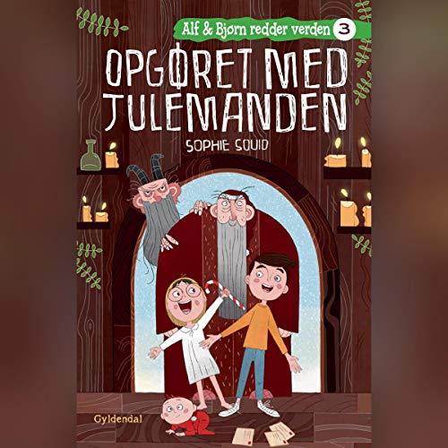 Opgøret med julemanden audiobook cover art