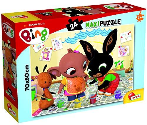 Lisciani Giochi- Art Attack Maxi Puzzle, 24 Pezzi, Multicolore, 81202