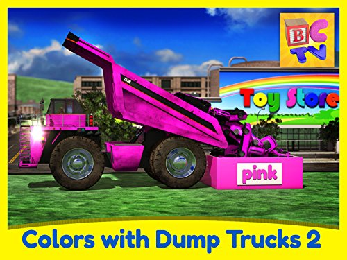 Learn Colors with Dump Trucks - Part 2