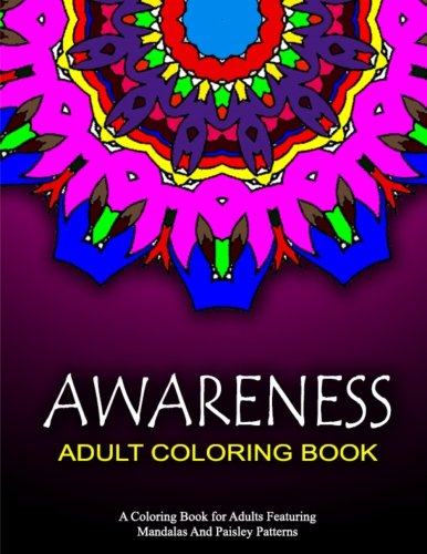 AWARENESS ADULT COLORING BOOKS - Vol.12: relaxation coloring books for adults