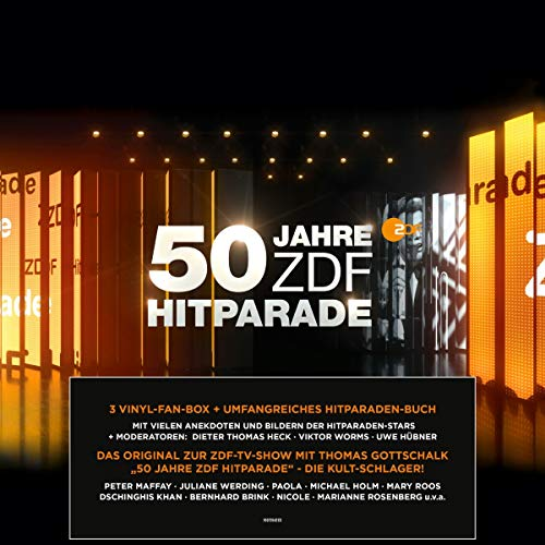 50 Jahre ZDF Hitparade [Vinyl LP]