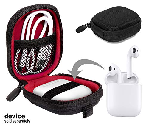 Travel Case for Airpods Case; Otium Bluetooth Headphones, SanDisk 8GB MP3 Player; Bad Elf 2200 GPS Pro, 2300, Sennheiser CX 685, OCX 685i, PMX 685i, Skullcandy Inkd 2 Earbud, TaoTronics TT-BH06, AYL