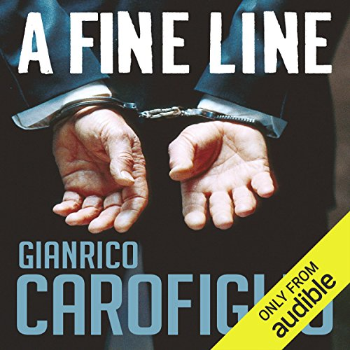 A Fine Line audiobook cover art