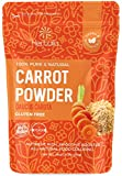 Carrot Powder 16oz (1 lb), Pure Dried Carrot Juice Powder, Smoothie Booster, Natural Orange Carrot Food Coloring | non-GMO, Gluten-free