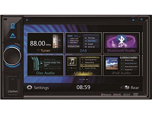 Clarion Navegación Radio de coche 2DIN DVD USB HDMI con Bluetooth, apta para Seat Ibiza ST 6J 6jn a partir de 07/2010incl OHG–Canbus