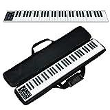 2020年8月最新 電子ピアノ 61鍵 コンパクト 高音質 MIDI対応 長時間利用可能 軽量 練習にピッタリ MIDI対応
