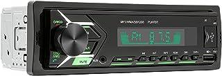 Ronyme 12V Digital Bluetooth Car Stereo MP3 Player Receptor de mídia Hands-Free Calling Microfone embutido, CD de suporte ...