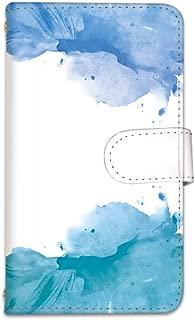 [bodenbaum] AQUOS ZETA SH-01H 手帳型 スマホケース カード スマホ ケース カバー ケータイ 携帯 SHARP シャープ アクオス ゼータ docomo watercolor マーブル b-005 (D)