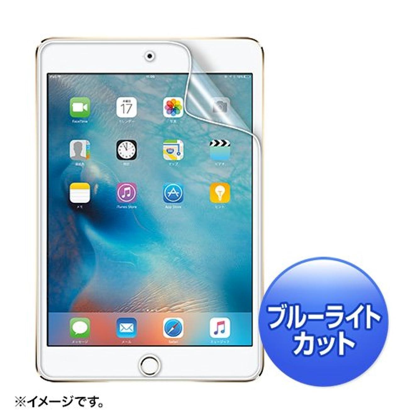ピアニスト回転させる小石サンワサプライ アウトレット 液晶保護フィルム(iPad mini 4用?指紋?反射防止?ブルーライトカット) LCD-IPM4BCAR 箱にキズ、汚れのあるアウトレット品です。
