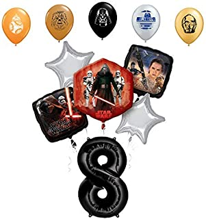 Star Wars Kylo Ren The Force Awakens 41 3D JUMBO AIRWALKER PARTY FOIL BALLOON~