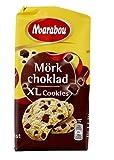 Marabou - Original Chocolate negro XLCookies de Suecia - 8 piezas, (1x184g)