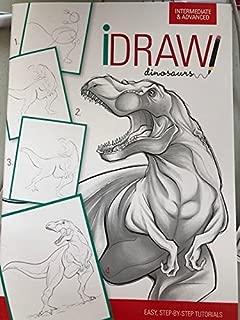 iDraw 恐竜 (中級&上級) 簡単、ステップバイステップのチュートリアル
