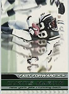 2001 Pacific Invincible Fast Forward #12 Curtis Martin NM-MT /1000 NY Jets