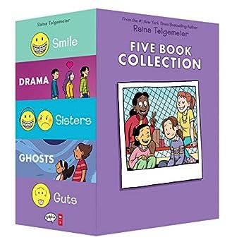Raina Telgemeier Collection Box Set  Smile Drama Sisters Ghosts Guts