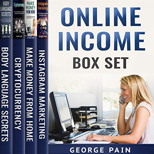 Online Income Box Set: 4 Books in 1 audiobook cover art