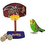 Jingyuu Jouet pour Perroquet - Parrot Cage Toys Cages à Oiseaux Mâcher Jouets pour de Petite et Grande Taille Bird Parrot Perroquet Gris du Gabon Amazones Conure Perruche calopsitte