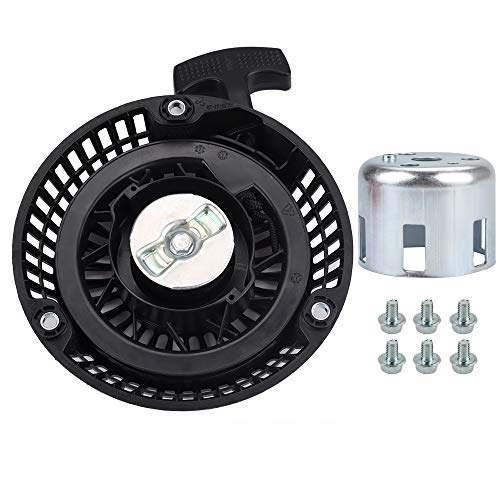 Dalom 212CC Recoil Starter with Cup Bolts Compatiable with Harbor Freight Predator 212 Pull Start 60363 68121 68120 69730 69727 R210 6.5HP 7HP OHV Engine Go Kart Lawn Mower
